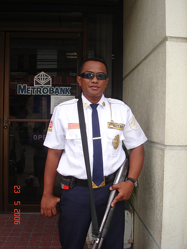 Philippines- security guard
