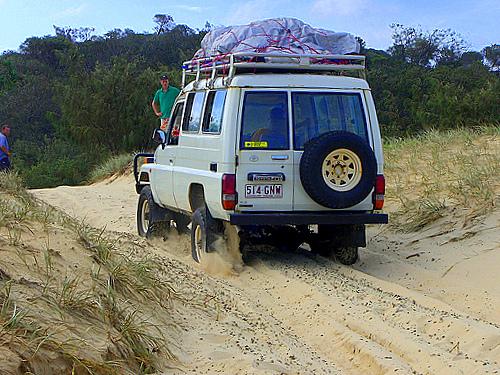 4WD - Fraser Island