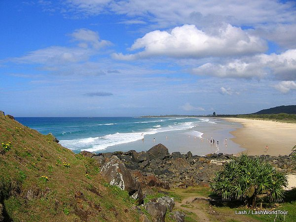 Australia- Gold Coast- Tweeds Head beach