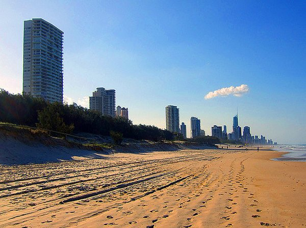Australia- Gold Coast beach