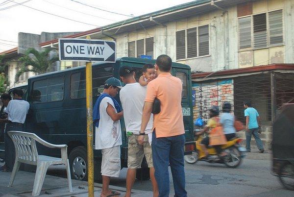 Philippines street scene