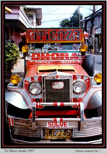 Philippines jeepney