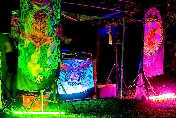 trance theme sarongs- trance party- Brisbane