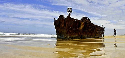 Shipwreck- Fraser Island