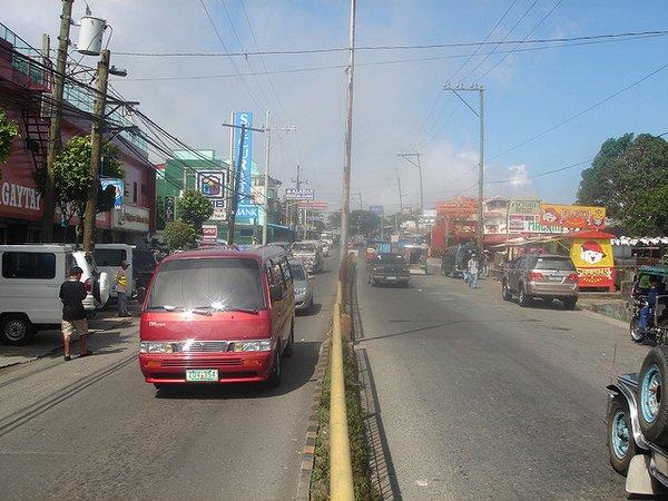 Philippines traffic- exhaust