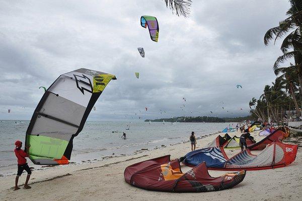 kite surfing- Boracay Island- Philippines