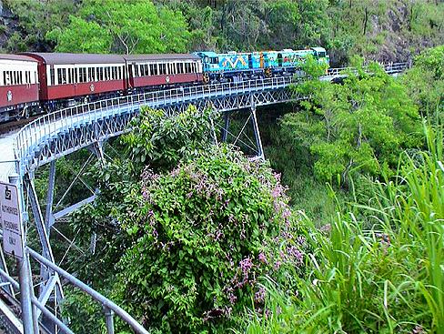 Kuranda railroad