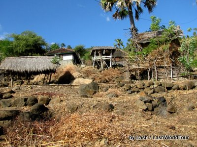 Amed Bali hillsides