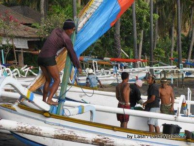 fisherman- jukung-Amed Bali