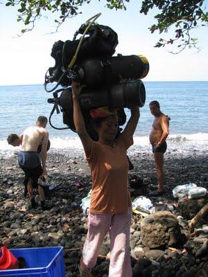 dive porter- Tulamben- Liberty Shipwreck- Bali