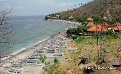 Amed Bali coast
