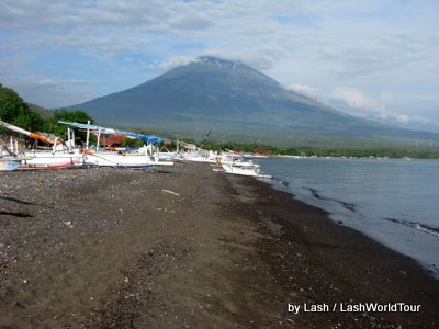 Mt Agung from Amed- Bali