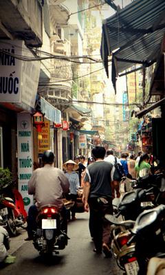 Old Quarter- Hanoi-Vietnam