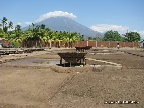 salt making fields-Amed-Bali