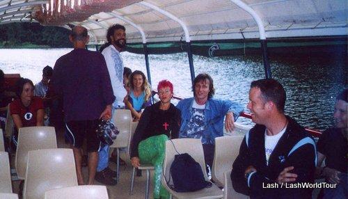 boat cruise on BArron River- Kuranda- Australia