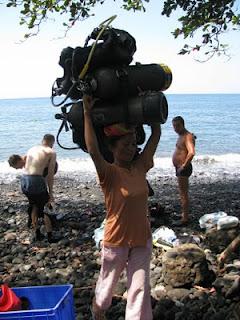 diving story- dive porter- Tulamben- Liberty Shipwreck- Bali