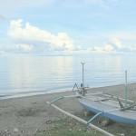 jukung on beach north Bali