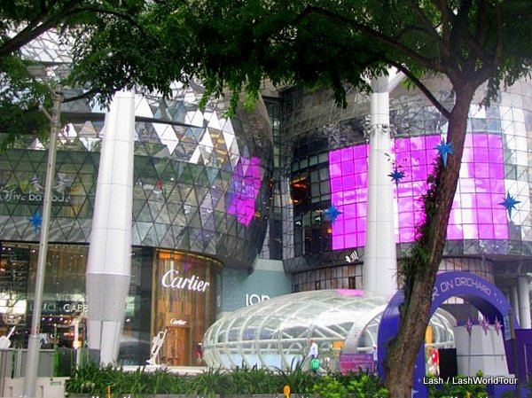 Orchard Road- Shopping Mall