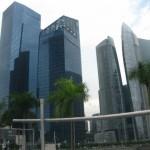 skyscrapers of Singapore
