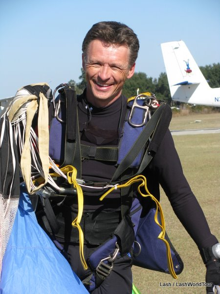 Enthusiastic and charming Sky Diving Instructor- Nigel Milligan
