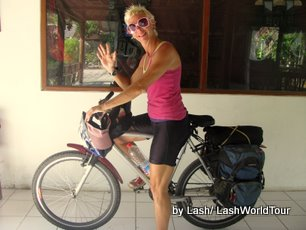 cycling Bali -Bali's south coast- Sanur