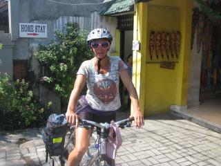 cycling Bali -Sanur