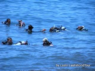 dive professional- diving - Bali