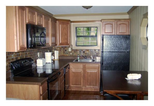 fontana cabin kitchen