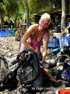 scuba Diving - Amed- Bali - Tropical reef