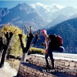 Lash in Nepal Himalayas-1