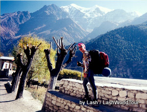 travel adventures- Lash in Nepal Himalayas-1