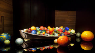 Chihuly Glass Collection-St Petersburg -Boat Floats