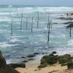 stormy south coast of Sri Lanka