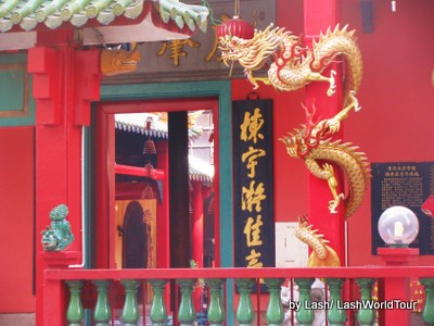 Chinese temple in Chinatown