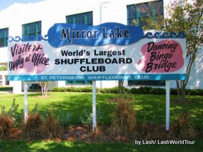 St Petersburg florida- Shuffleboard Club