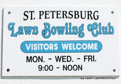 St Petersburg Lawn Bowling Club