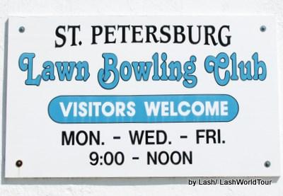 St Petersburg Florida- Lawn Bowling Club