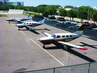 St Petersburg- florida- Albert Witted Airport