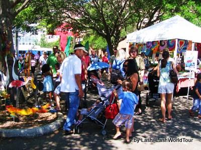 St Petersburg Florida- Saturday Morning Market