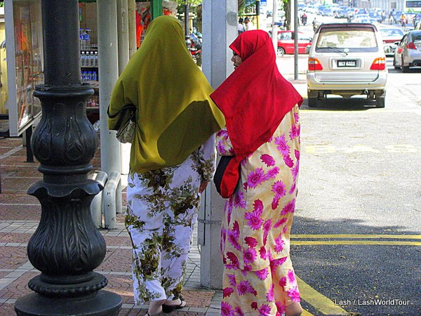 Muslim women in KL