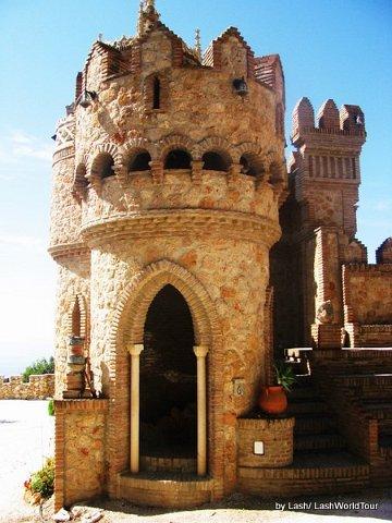 Benelmadena Castle, Costa del Sol, Spain