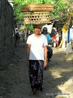 Local woman- Amed- Bali