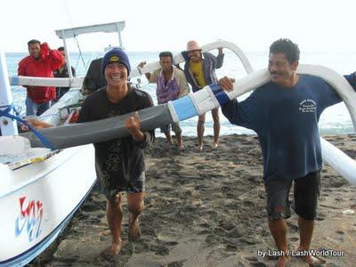 Lipah fishermen-jukung- Amed- Bali