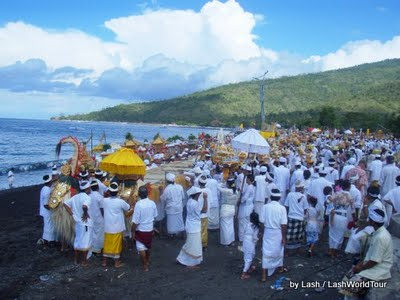 temple ceremony- Amed- Bali