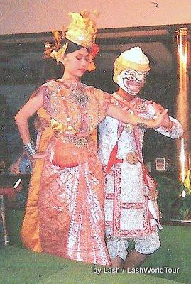 Thai Dancers in Bangkok