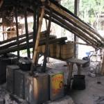 arak distillery in rural BAli