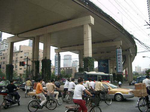 Cycling shanghai- travel story-