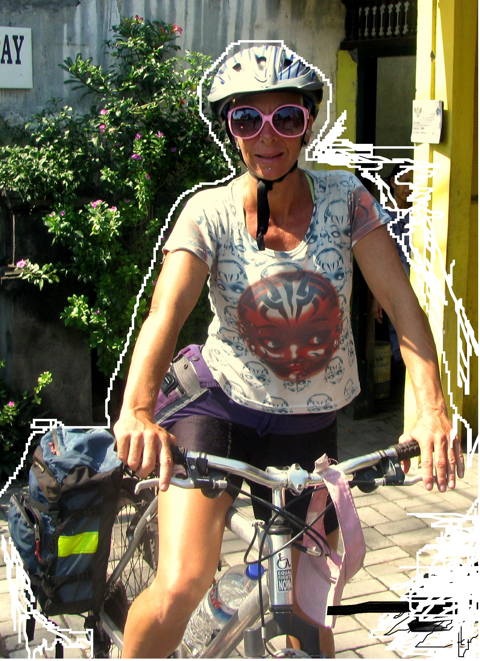 cycling Bali - Sanur