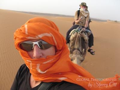 Sherry Ott in Sahara