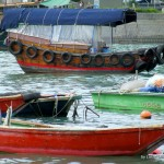 boats in Hong Kong